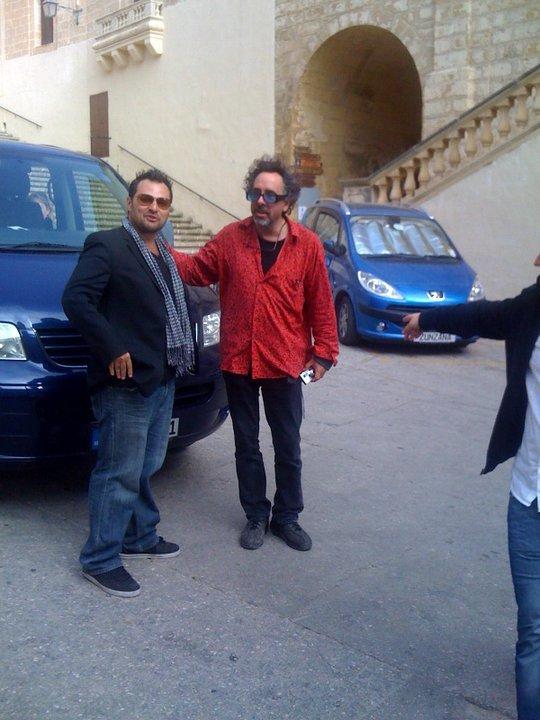 Tim Burton in Malta