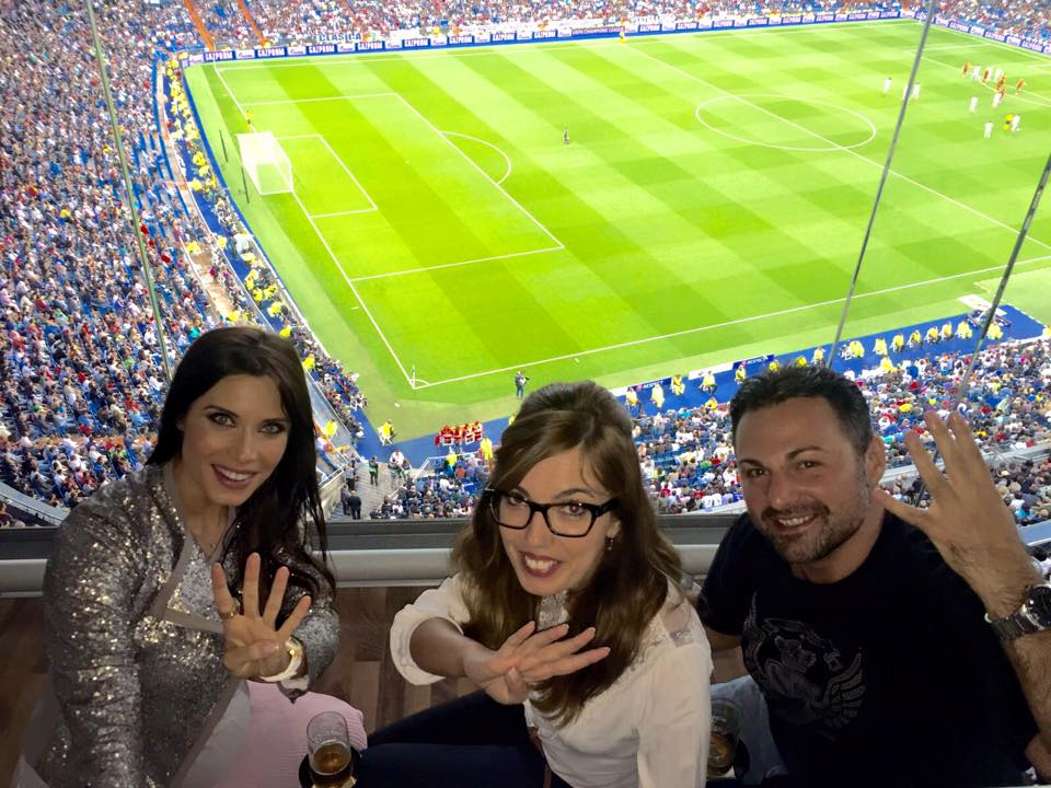 Real Madrid Match from the Captain\'s Box