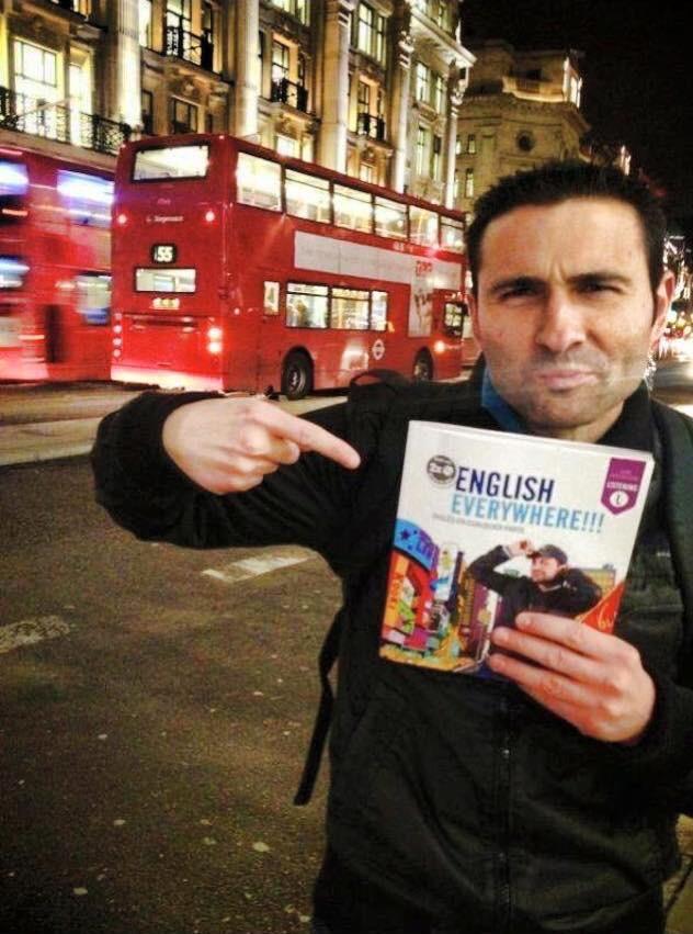 DJ Valdi in London with English Everywhere
