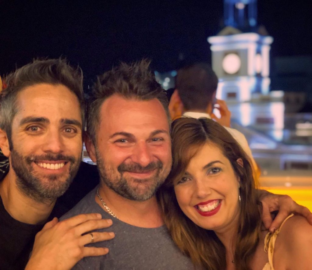 Roberto\'s Birthday in Puerta del Sol
