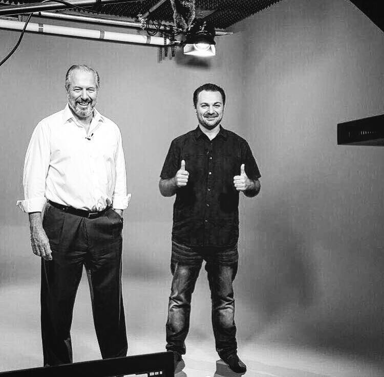 With Richard On Set