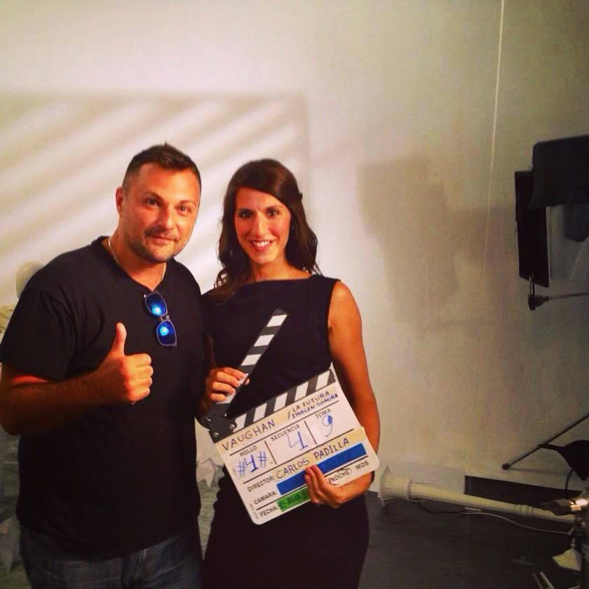 On Set with Ximena