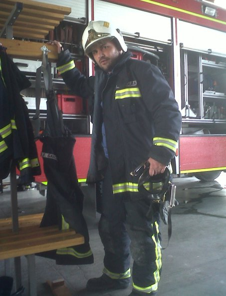 Filming with Firefighters
