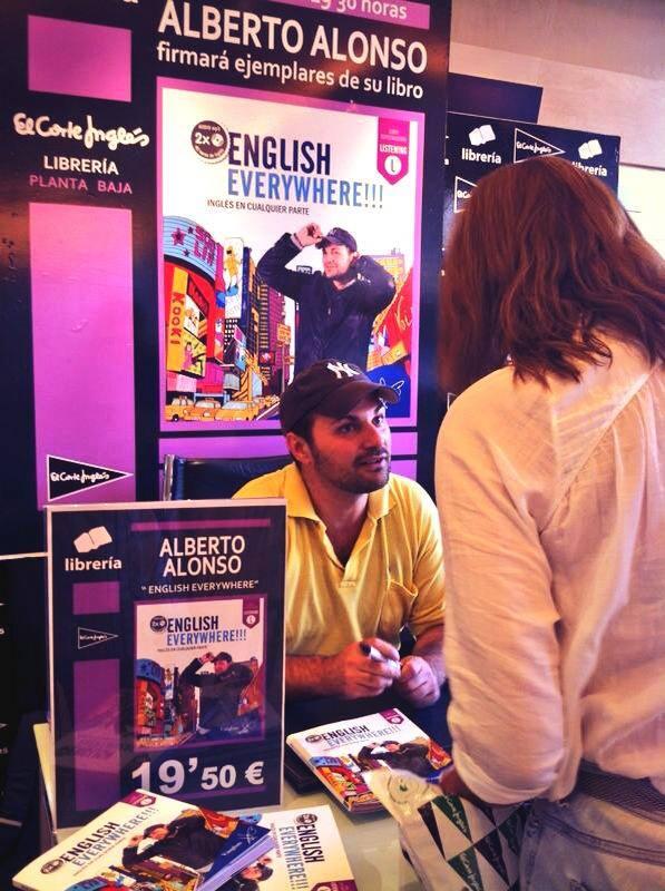 Book Signing - Corte Inglés