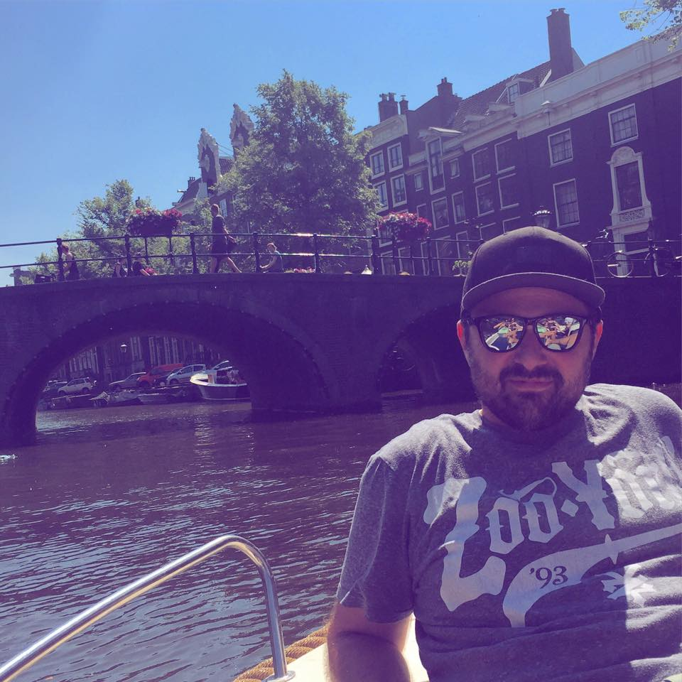 I\'m on a boat!